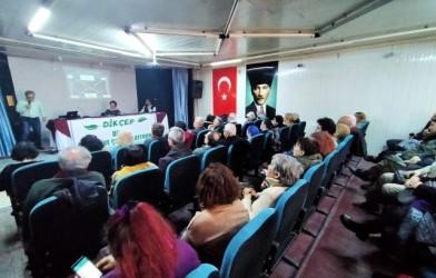 Dikili Kültür ve Çevre Platformu (DİKÇEP) panelindeydik