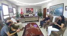 Dikili Belediye Başkanı Adil Kırgöz'ü ziyaret ettik
