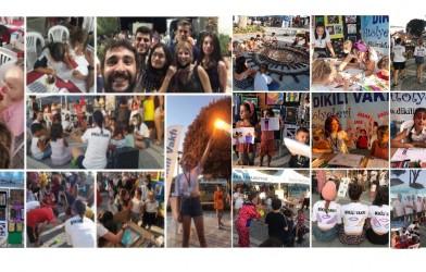 Atölyelerimiz Dikili Kültür Sanat Emek ve Demokrasi Festivalinde